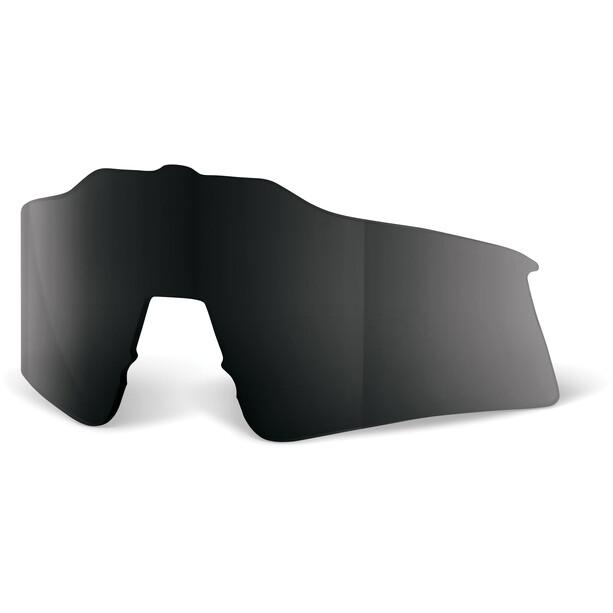 100% Speedcraft Wechselglas Kurz black mirror