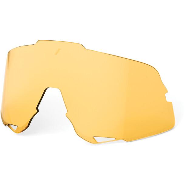 100% Glendale Wechselglas yellow