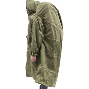 Helsport Poncho green green