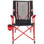 Coleman Bungee Stuhl Festival Collection red