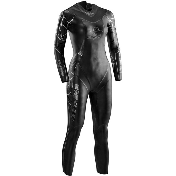 sailfish Ultimate IPS Plus 2 Wetsuit Damen black