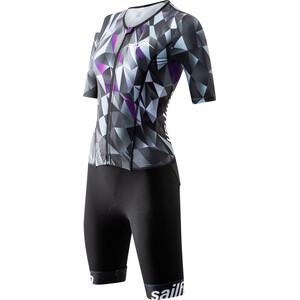 sailfish Comp Combinaison aérodynamique Femme, violet/noir violet/noir