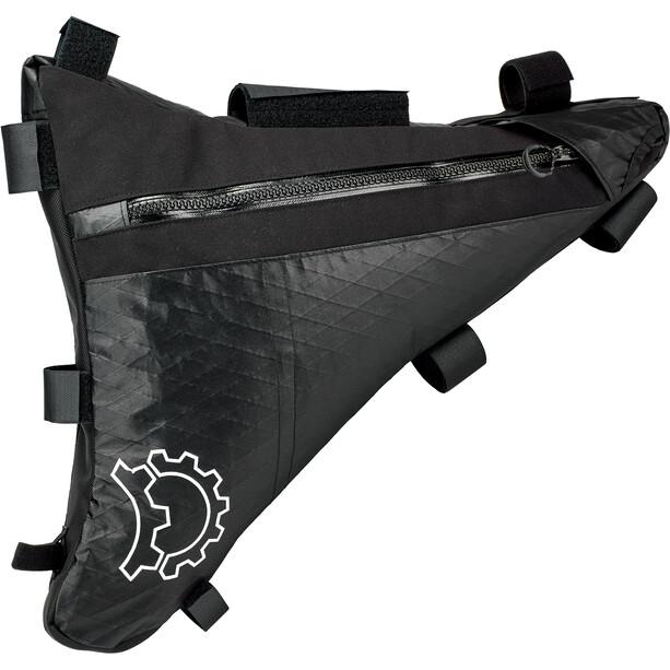 Revelate Designs Mukluk Carbon Runkolaukku L, musta