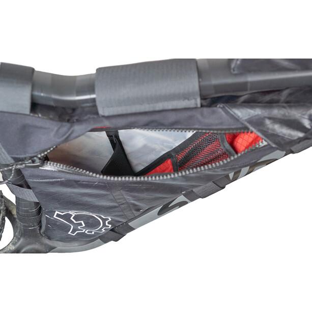Revelate Designs Mukluk Carbon Rahmentasche M black