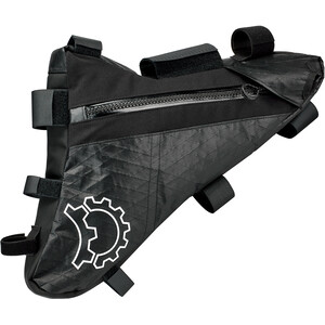 Revelate Designs Mukluk Carbon Rahmentasche S black black
