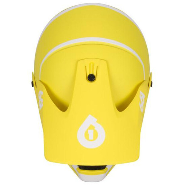 SixSixOne Reset Full-Face Helm geo citrus