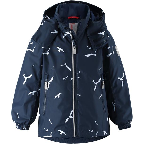 Reima Fasarby Reimatec Jacke Kinder navy/birds