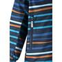 Reima Fasarby Reimatec Jacke Kinder navy/orange stripes