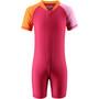 Reima Anguilla Schwimm-Overall Kleinkind berry pink