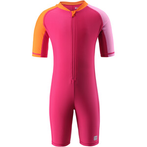 Reima Comores Schwimm-Overall Kinder berry pink berry pink