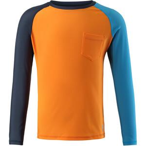 Reima Tioman Swim Shirt Youth, orange orange
