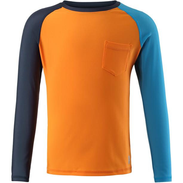 Reima Tioman Swim Shirt Youth, orange