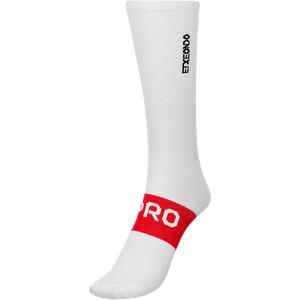 Etxeondo Pro Lightweight Socken weiß/rot weiß/rot