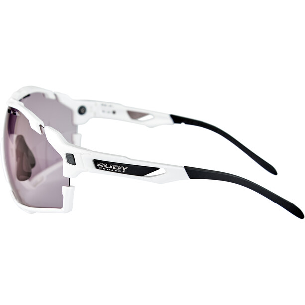 Rudy Project Cutline Brille white gloss/impactX 2 laser purple
