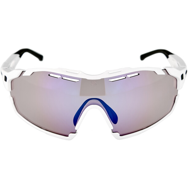 Rudy Project Cutline Lunettes, white gloss/impactX 2 laser purple