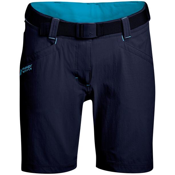 Maier Sports Lulaka Bermuda Shorts Damen blau