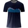 Maier Sports Ludo Chemise manches courtes Homme, bleu