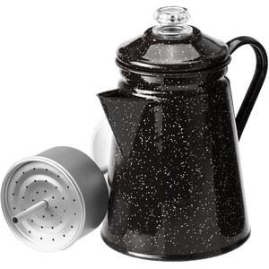 GSI Perkolator für 8 Tassen 1,2l schwarz schwarz
