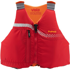 NRS Vista Personal Flotation Device red red