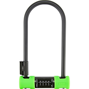 ABUS Ultra Combo 410C/170HB230 SH34 Candado en U, negro/verde negro/verde
