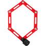 ABUS Bordo uGrip 5700C/80 SH Viklås röd/svart