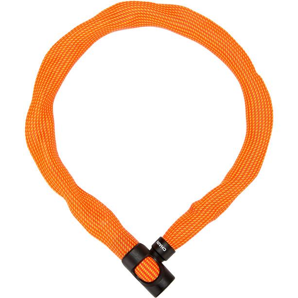 ABUS IvyTex 7210 Kettenschloss orange