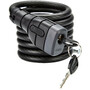ABUS Primo 5510K/180 SCLL Coil Cable Lock black