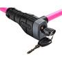 ABUS Primo 5412K/85 Kabelschloss pink