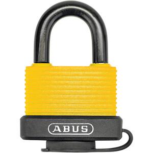 ABUS 70AL/45 B/DFNLI Vorhängeschloss gelb/schwarz gelb/schwarz