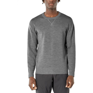 Icebreaker Nova Sweater Sweatshirt Herren gritstone heather gritstone heather