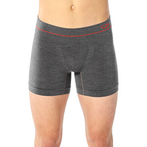 Icebreaker Anatomica Seamless Boxershorts Herren monsoon heather monsoon heather