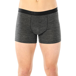 Icebreaker Anatomica Cool-Lite Boxershorts Herren black heather black heather