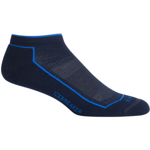 Icebreaker Hike Cool-Lite Low Cut Socken Herren midnight navy midnight navy