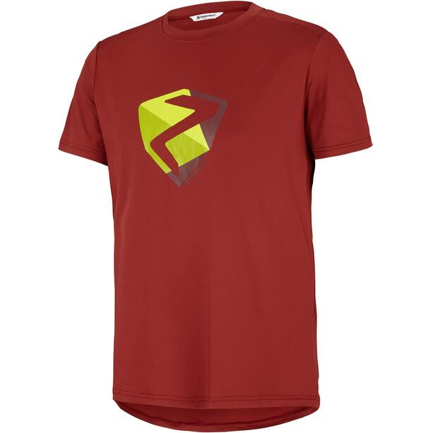 Ziener Nolaf T-Shirt Herren cardinal red