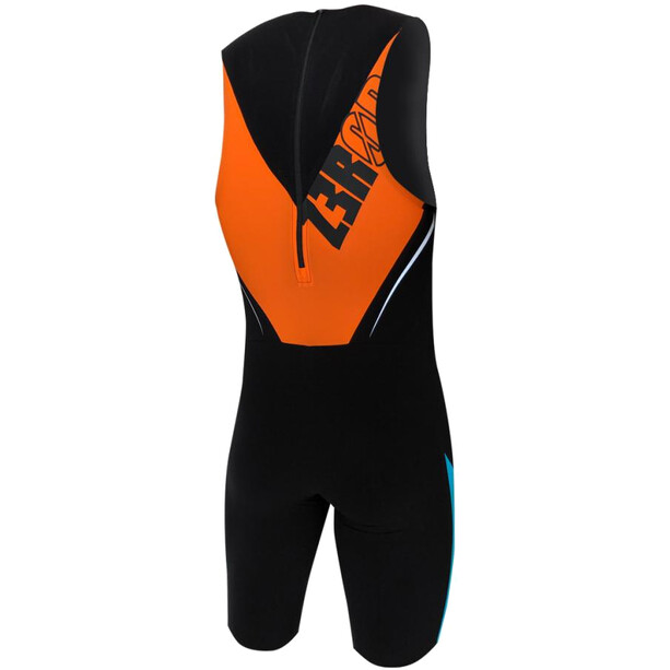 Z3R0D Elite Speedsuit Herren black/atoll/orange