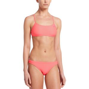 Nike Swim Essential Racerback Bikini Set Damen pink gaze pink gaze