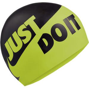 Nike Swim JDI Silikonlokk Svart/Gul Svart/Gul