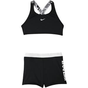 Nike Swim JDI Ensemble de bikini de sport crossback Fille, noir noir