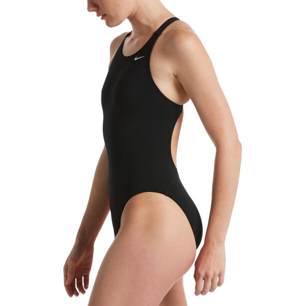 Nike Swim Hydrastrong Solids Fastback badedragt Damer, sort