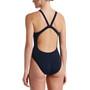Nike Swim Hydrastrong Solids Fastback One Piece Badpak Dames, blauw