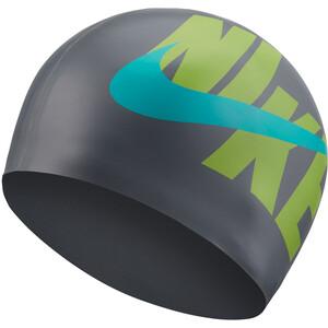Nike Swim Logo Silikonkappe particle grey particle grey
