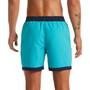 """Nike Swim Funfetti Racer 5"""" Volley Shorts Herren oracle aqua"""