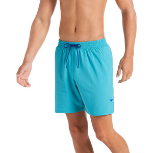 "Nike Swim Essential Vital 7"" Volley Shorts Herren oracle aqua oracle aqua"