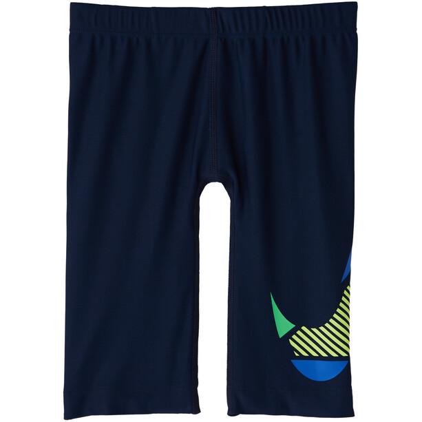 Nike Swim Mash Up Jammer Jungen midnight navy