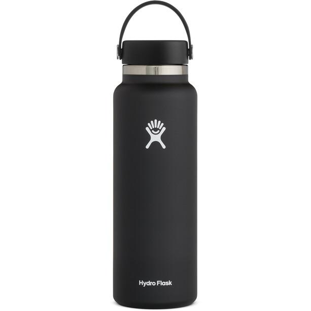 Hydro Flask Wide Mouth Bottle 1180ml black