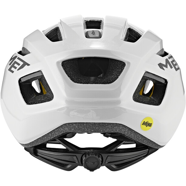 MET Vinci MIPS Helm shaded white glossy