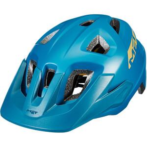 MET Echo MIPS ヘルメット ペトロルブルー ブルー マット