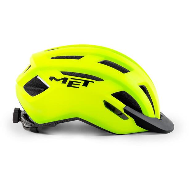 MET Allroad Helmet safety yellow matte