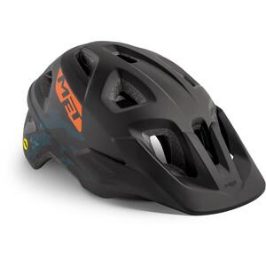 MET Eldar MIPS ヘルメット キッズ ブラック カモ マット