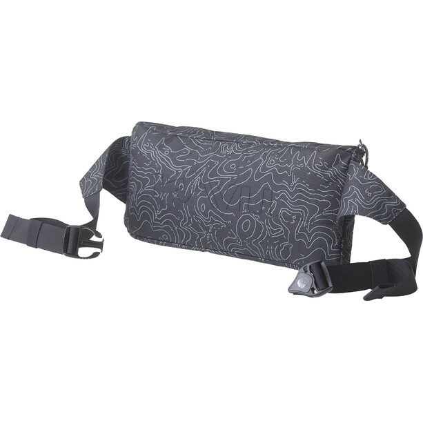 KAVU Kiyo Carryall Belt Bag black topo